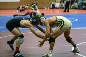 Davis High wrestlers never giving up on the mat.